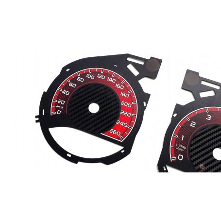 Mercedes V Klasa - Custom Replacement tacho dials