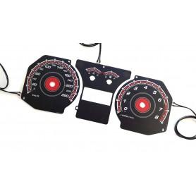 Hyundai Coupe 2gen. (2002-2008) design 3 plasma tacho glow gauges tachoscheiben dials