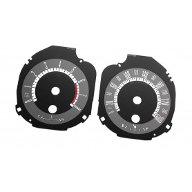 Ford Mustang - limited custom tacho replacement dials, counter faces gauges speedo