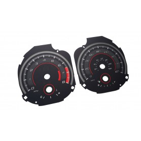 Ford Mustang from 2015+ custom MPH ROUSH STYLE speedo replacement instrument cluster dials counter gauges speedometer
