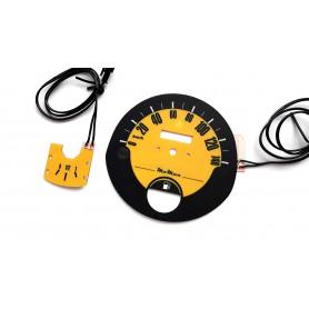 FIAT 126p glow face gauge design 4