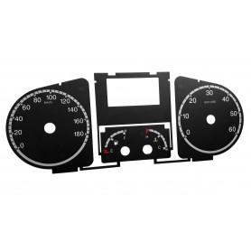 Peugeot Boxer tarcze licznika zegary zamiennik MPH/km/h