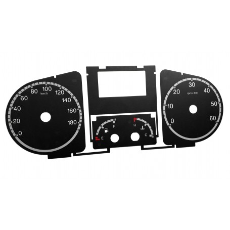 copy of Fiat Ducato Replacement dial gauge speedo - converted from MPH to Km/h