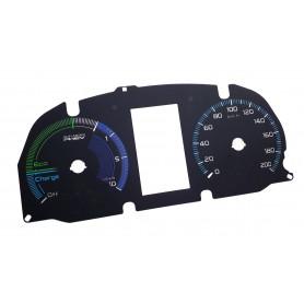 Mitsubishi Outlander PHEV - Replacement tacho dial - EU Speed Scale