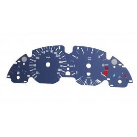 BMW E39 Alpina speedo replacement MPH km/h instrument cluster dials counter gauges speedometer