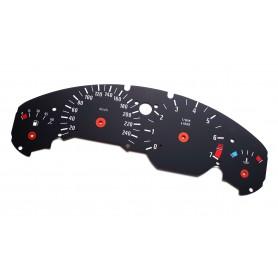 BMW Z3 speedo replacement MPH km/h instrument cluster dials counter gauges speedometer