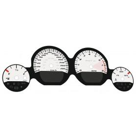 Dodge Challenger 2011-2014 SRT - zamiennik tarcz licznika, zegary z MPH na km/h