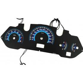 Nissan Murano - plasma tacho glow gauges tachoscheiben dials