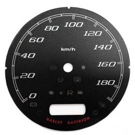 Harley Davidson FLHR Road King - replacement instrument cluster dials gauges // tacho counter