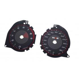 Mitsubishi Lancer EVO X - Replacement tacho CUSTOM counter dials