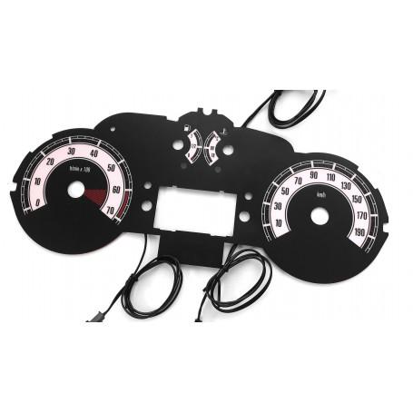 Citroen Berlingo II - plasma tacho glow gauges tachoscheiben dials