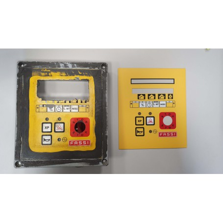 Panels for various machines/equipment. Design, reconditioning, repair of printed panels for various machines and devices