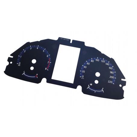 Toyota C-HR CHR speedo replacement instrument cluster MPH to KMH dials counter gauges speedometer
