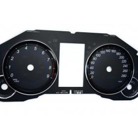 Infiniti QX70 - tarcze licznika zegary zamiennik z MPH na km/h