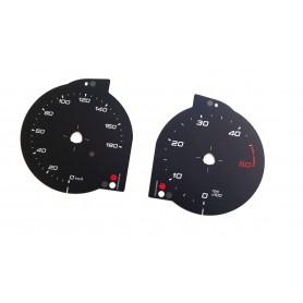 IVECO Daily 6 VI - tarcze licznika zegary zamiennik z mil na kilometry