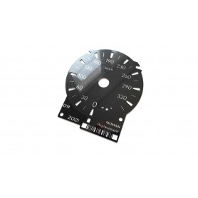 LEXUS GSF GS F GS-F - replacement instrument cluster dials counter gauges from MPH to KMH