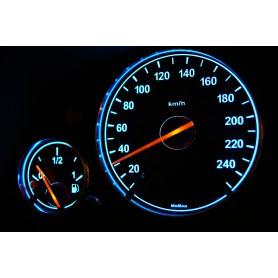 BMW E39 Wzór 1 ŚWIECĄCE TARCZE LICZNIKA, ZEGARY INDIGLO