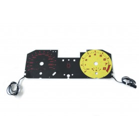 Renault Megane 2 SPORT plasma tacho glow gauges tachoscheiben dials
