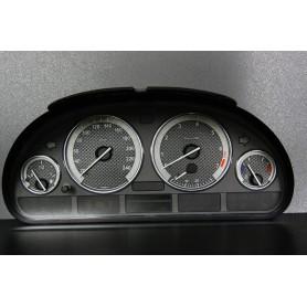 BMW E38 design 2 PLASMA TACHO GLOW GAUGES TACHOSCHEIBEN DIALS