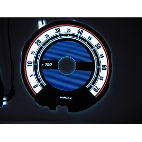 Renault 19 design 1 PLASMA TACHO GLOW GAUGES TACHOSCHEIBEN DIALS