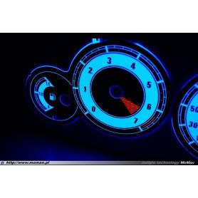 Citroen Berlingo II design 2 PLASMA TACHO GLOW GAUGES TACHOSCHEIBEN DIALS