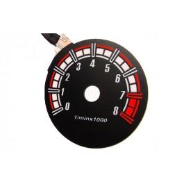 Fiat Cinquecento - RPM dial