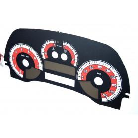 Fiat Punto 2 design 2 PLASMA TACHO GLOW GAUGES TACHOSCHEIBEN DIALS