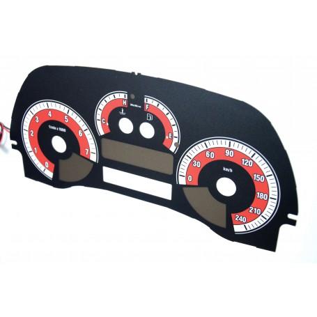 Fiat Punto 2 wzór 2 świecące tarcze licznika INDIGLO