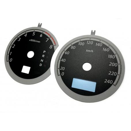 Subaru Legacy 4 - Replacement tacho dials MPH to km/h