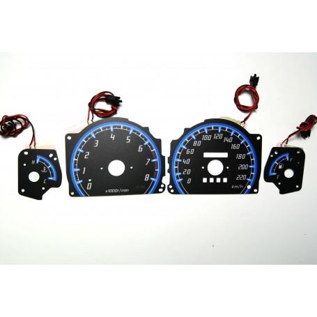 Subaru Impreza 1992-1996 PLASMA TACHO GLOW GAUGES TACHOSCHEIBEN DIALS