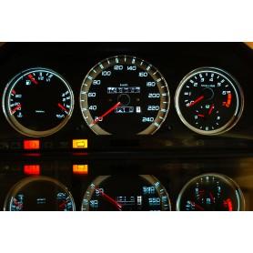 Mercedes W126 indiglo plasma dials tacho design 1