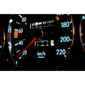 Mercedes W124 tarcze licznika indiglo wzór 2