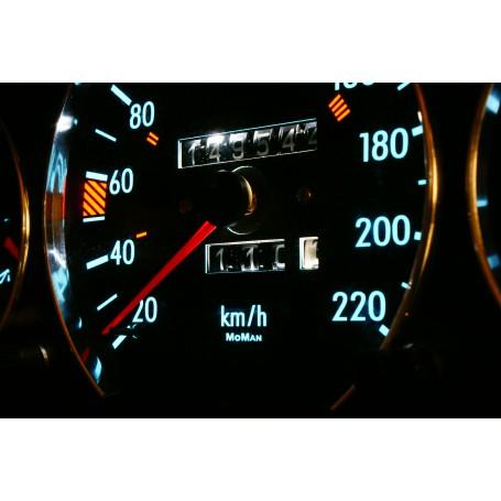Mercedes W126 design 2 PLASMA TACHO GLOW GAUGES TACHOSCHEIBEN DIALS