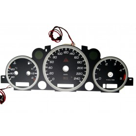 Mercedes ML W163 indiglo plasma dials tacho