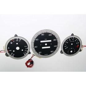 Mercedes W123 indiglo plasma dials tacho design 2