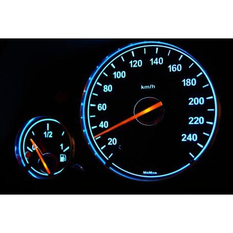 BMW E38 Wzór 1 świecące tarcze licznika INDIGLO