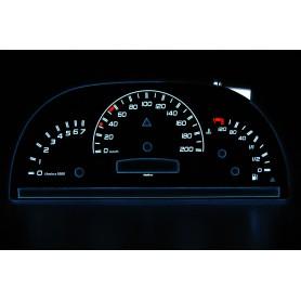 Mercedes Vito W638/2 - po lifcie wzór 1 świecące tarcze licznika INDIGLO