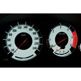 BMW E38 design 3 PLASMA TACHO GLOW GAUGES TACHOSCHEIBEN DIALS