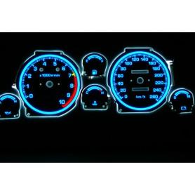 Toyota Celica IVgen. T16 PLASMA TACHO GLOW GAUGES TACHOSCHEIBEN DIALS