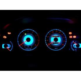 Toyota Corolla E10 wzór 2 świecące tarcze licznika INDIGLO