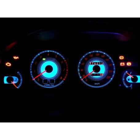 Toyota Corolla E10 design 2 PLASMA TACHO GLOW GAUGES TACHOSCHEIBEN DIALS