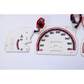 Toyota Hilux / 4 Runner design 2 PLASMA TACHO GLOW GAUGES TACHOSCHEIBEN DIALS