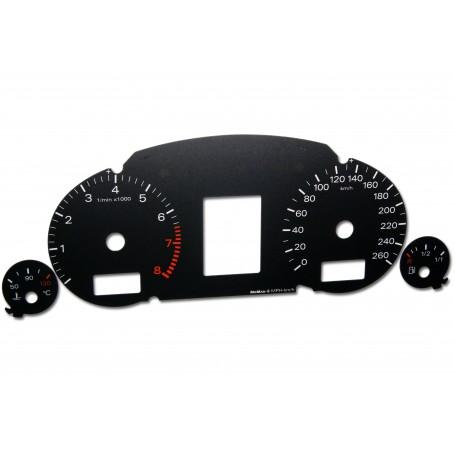 Audi A4 (B6 i B7) - Zamiennik z MPH na km/h