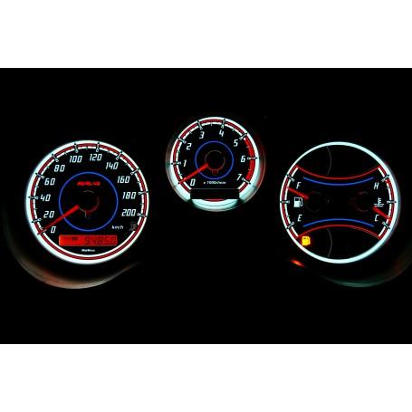 Toyota RAV4 - 2gen. świecące tarcze licznika INDIGLO