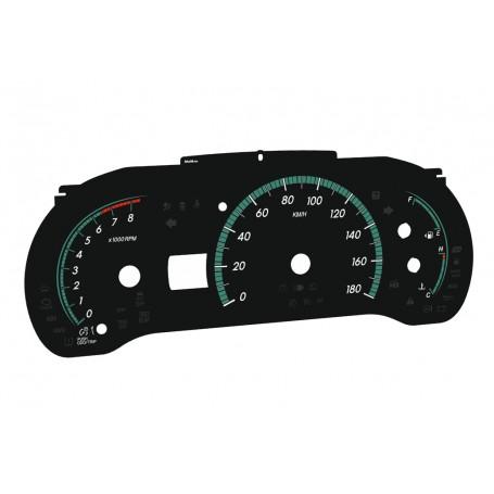 Toyota Sienna 3 2011-2014 zamiennik z MPH na km/h