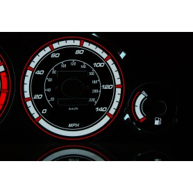 Honda Accord 1993-1998 design 1 PLASMA TACHO GLOW GAUGES TACHOSCHEIBEN DIALS