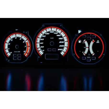 Honda Accord 1998-2003 wzór 1 świecące tarcze licznika INDIGLO
