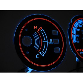 Honda Civic 1992-1995 without RPM dial design 1