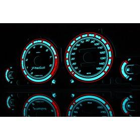 Honda Prelude 5 gen. Indiglo plasma dials tacho