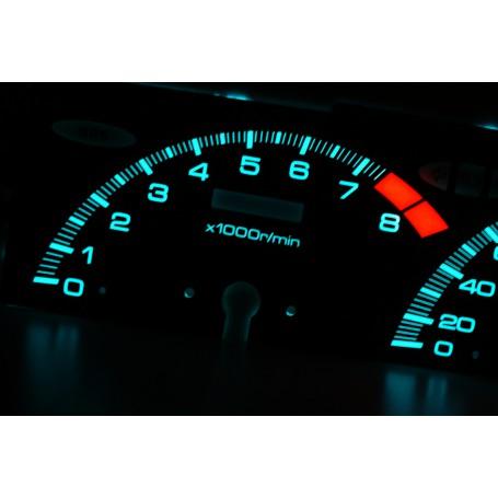 Honda Prelude 4 gen. - oryginalny wzór świecące tarcze licznika zegary INDIGLO